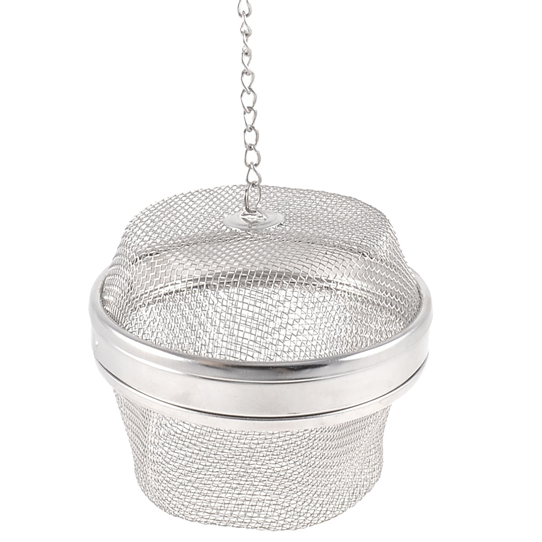 "Home 3.5"" Diameter Locking Mesh Sphere Ball Spice Tea Strainer Infuser"