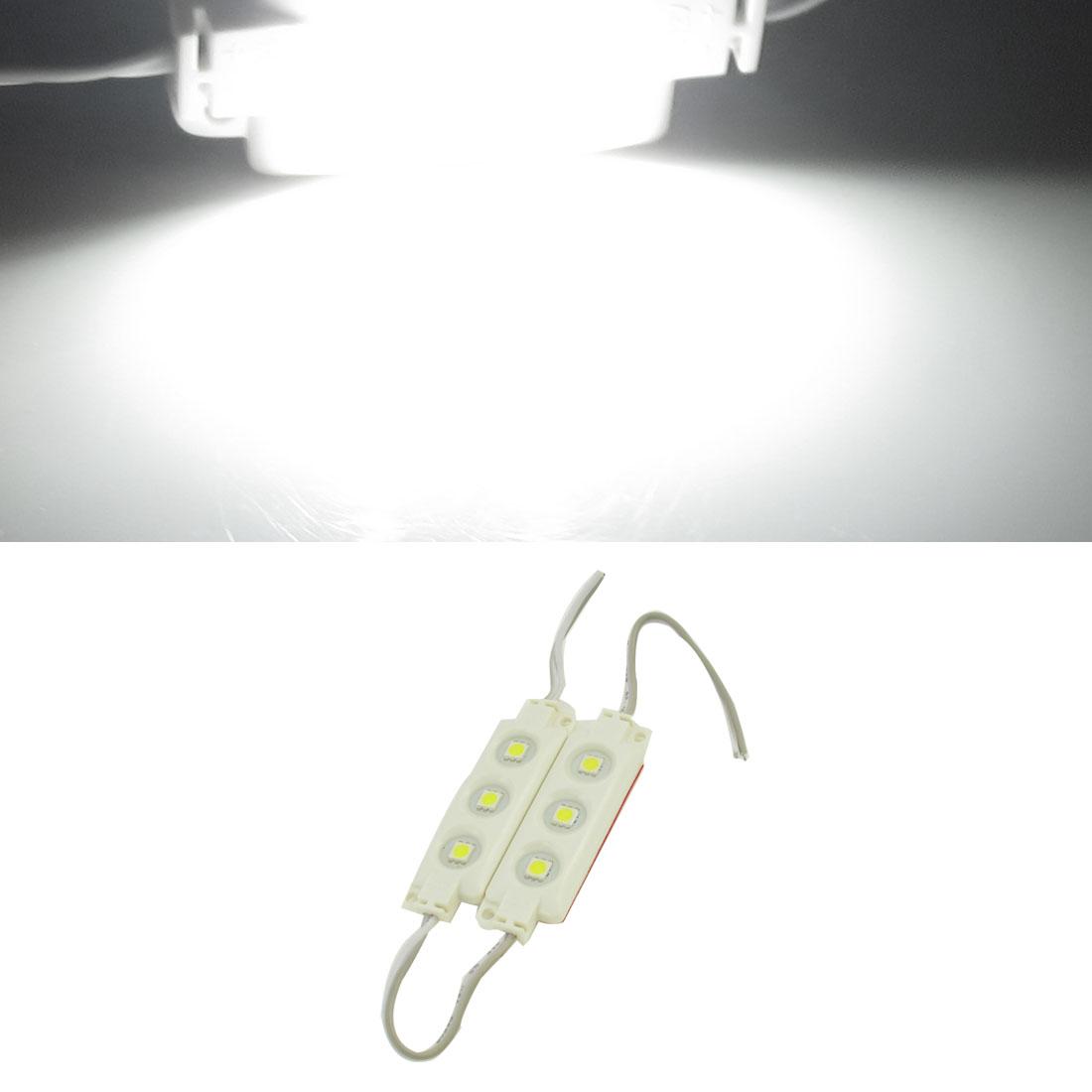 SMD5050 DC12V 0.72W Waterproof 6 White LED Module Light