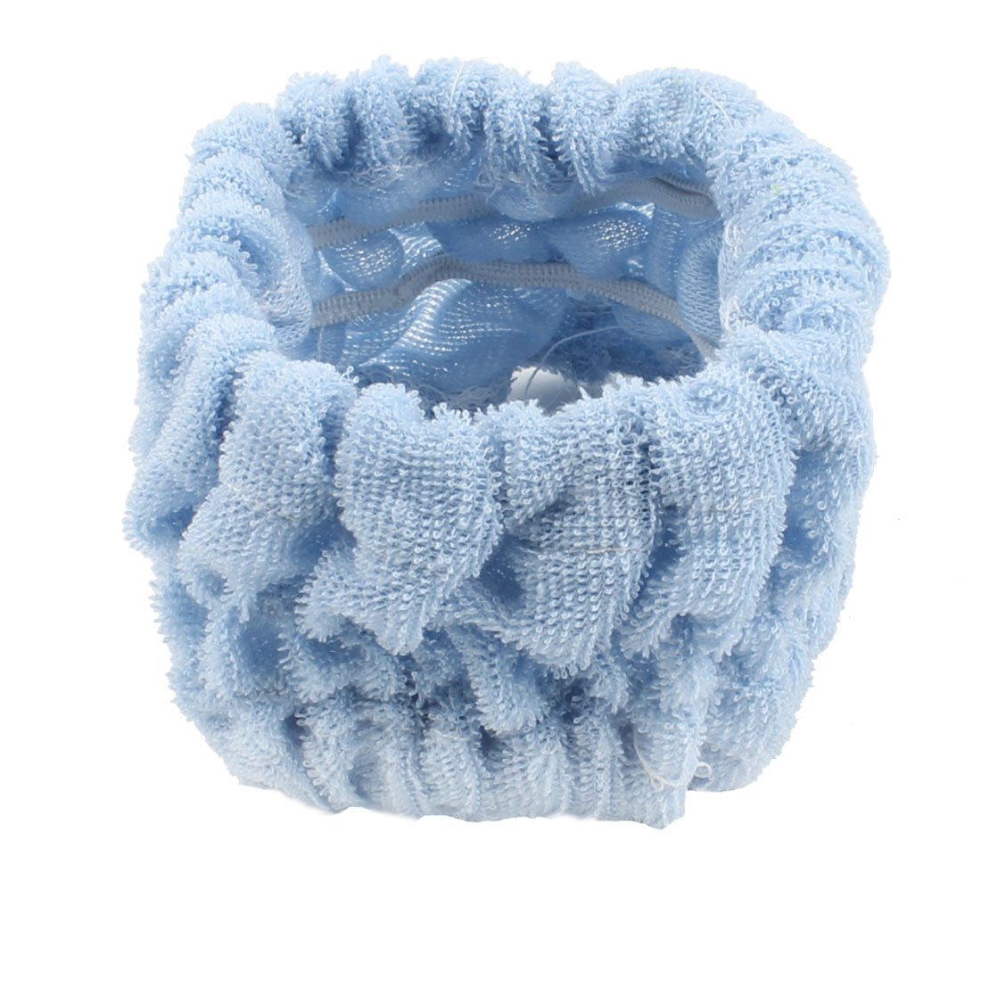 "Lady Blue 2.7"" Width Beauty Face Wash Cosmetic Elastic Headband Hairband"