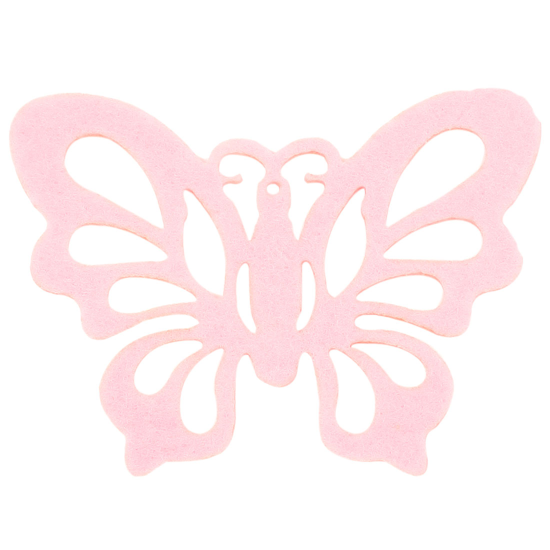 Butterfly Shape Cut out Felt Canteen Bowl Heat Insulation Cup Coaster