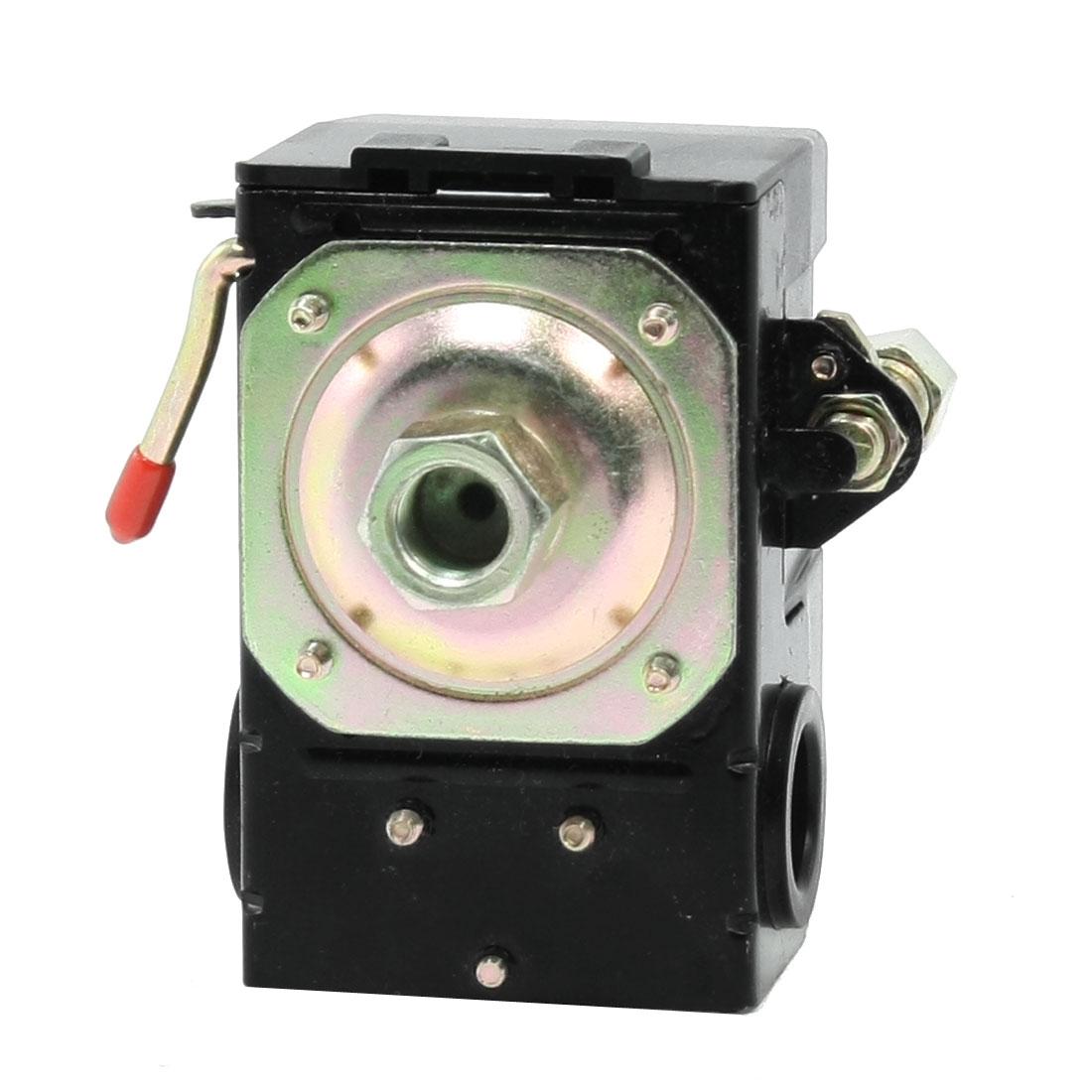 115PSI 1/4 NPT 1-Port Adjustable Air Compressor Pressure Switch Control Valve