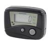 Black Green LCD Display Running Digital Step Counter Pedometer + Clip