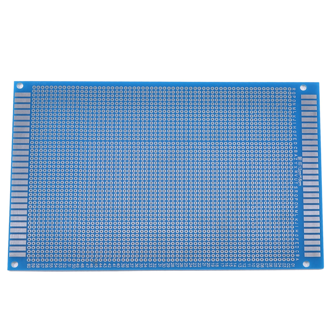 12cm x 18cm Single Side Tinned Universal Prototype PCB Circuit Board Blue