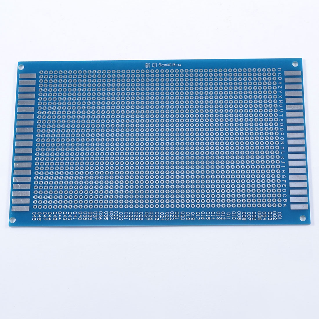 9cm x 15cm Single Side Tinned Universal Prototype PCB Circuit Board Blue
