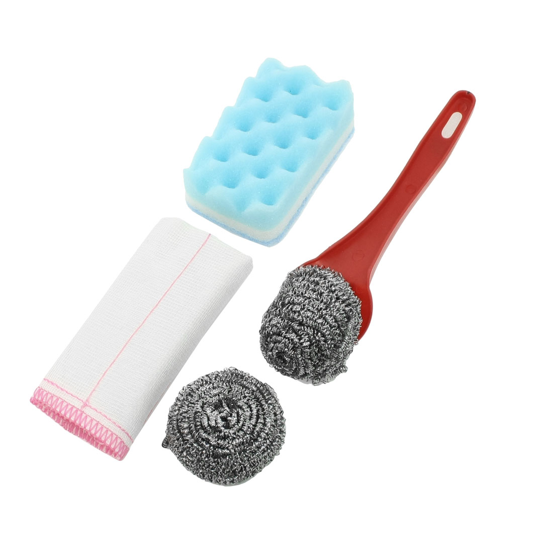 Household Kitchen Washing Scourer Ball Cleaning Pad Cloth