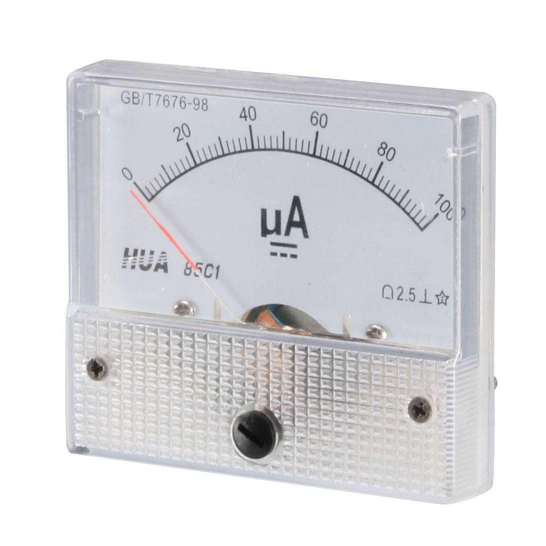 Class 2.5 Accuracy DC 0-100uA Analogue Display Ammeter 85C1-uA