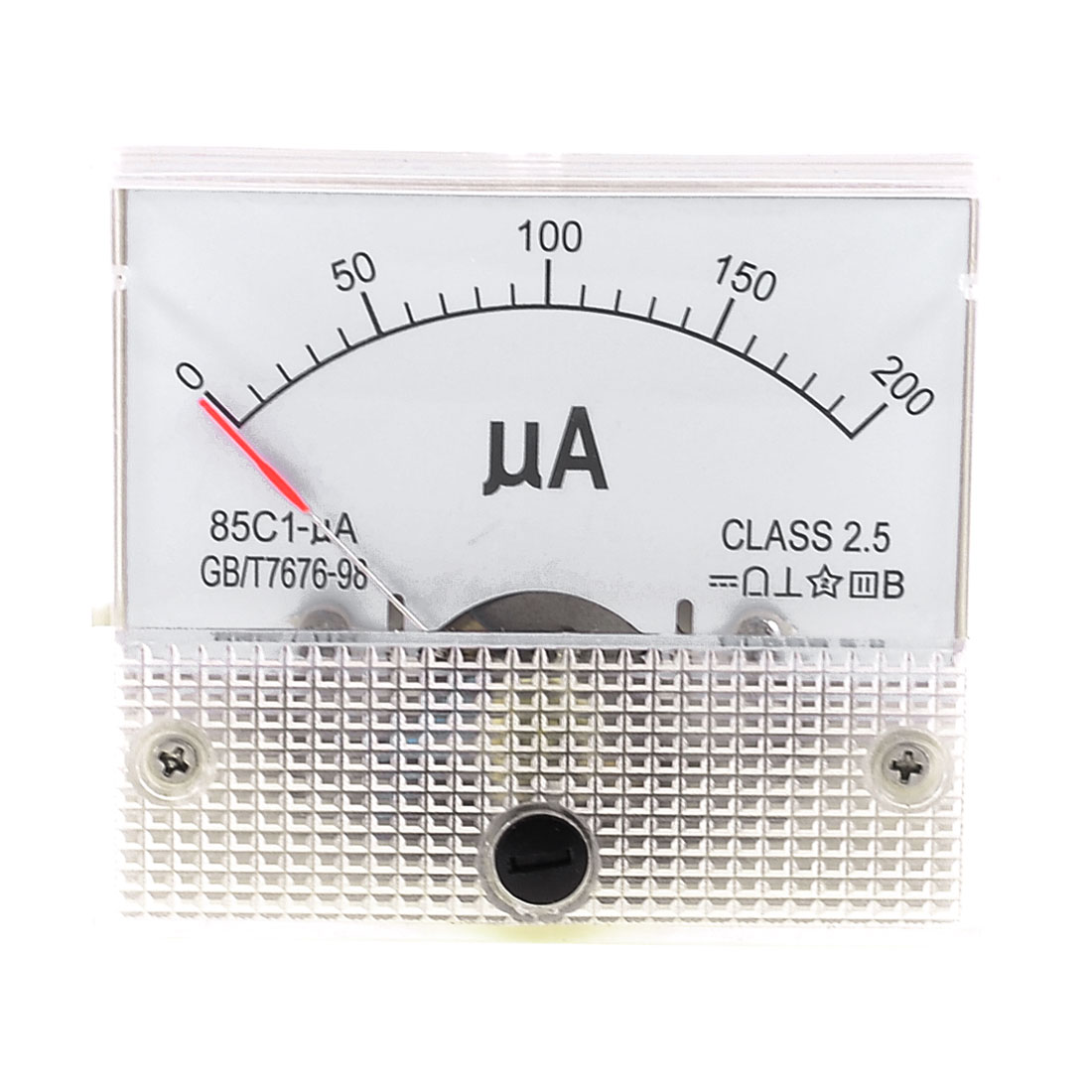 85C1-uA Panel DC 0-200uA Current Measuring Tool Analogue Meter