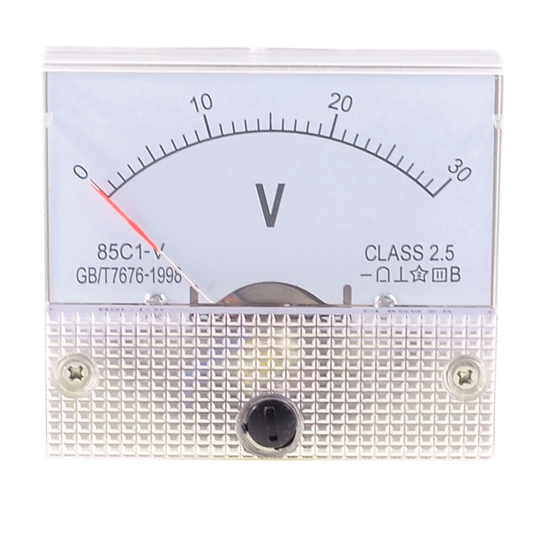 Class 2.5 Accuracy DC 0-30V Panel Gauge Voltmeter Voltage Meter 85C1-V