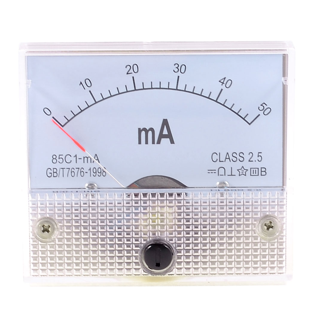 2.5 Accuracy DC 0-50mA Analog Current Panel Meter Ammeter 85C1-mA