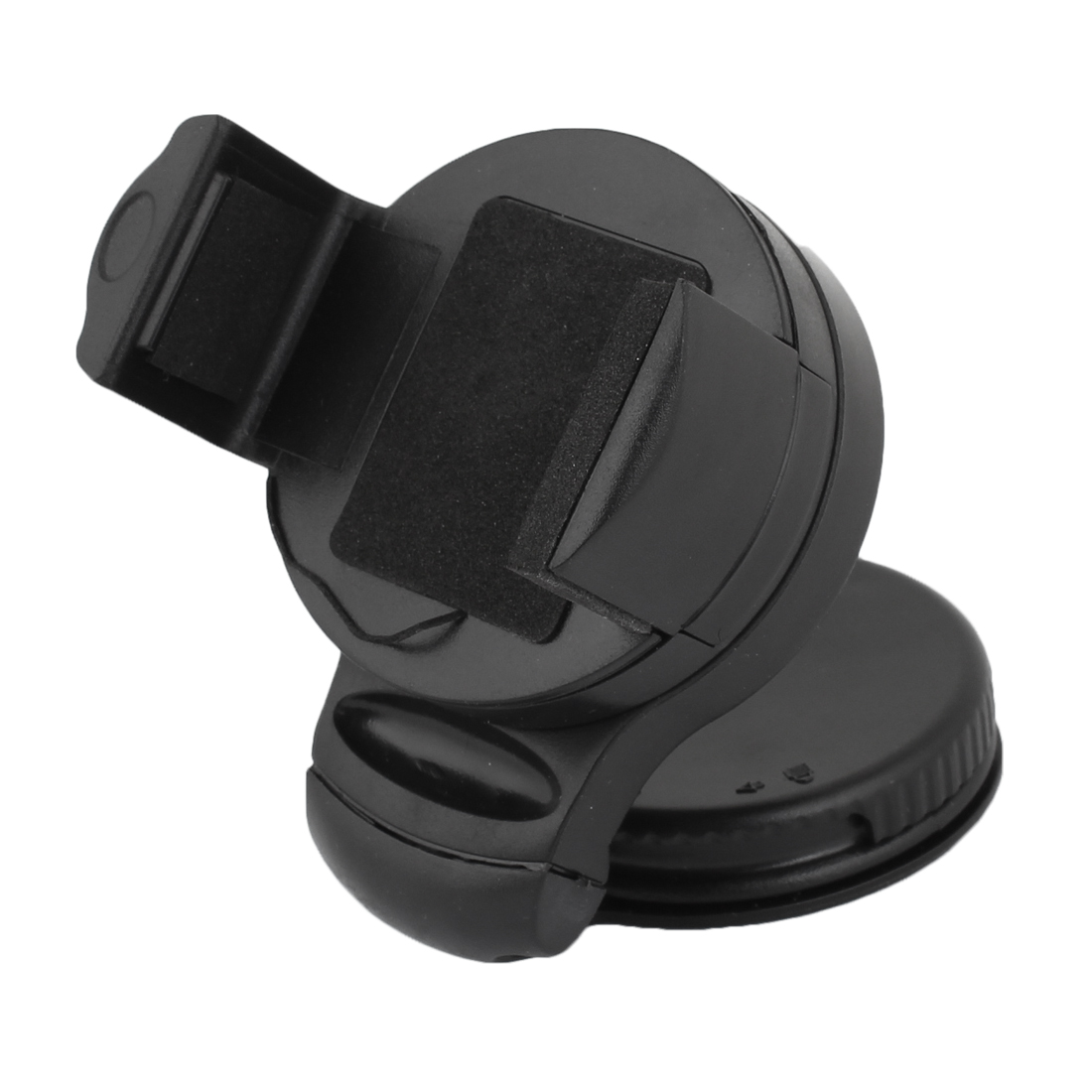 Automobile Windshield 360 Degree Rotation Mobile Phone Holder Bracket Black
