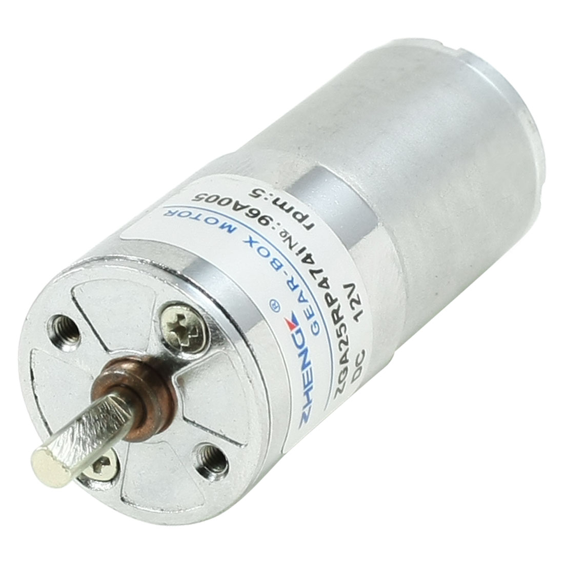 5RPM 12V 0.01A High Torque Electric Speed Reduce DC Geared Motor