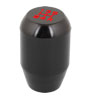 Universal Aluminium 5 Speed Manual Gear Shift Knob Stick Shifter Black for Car