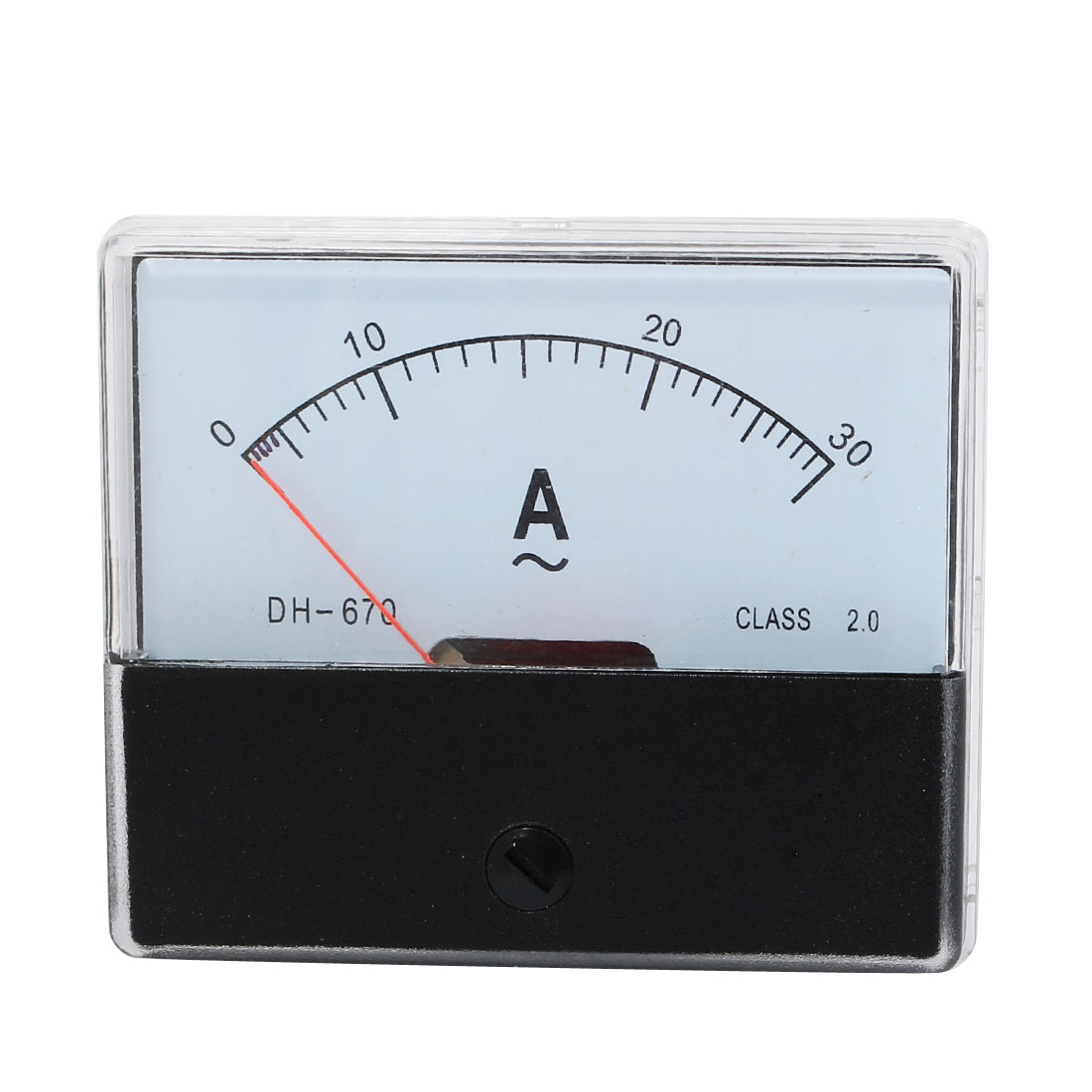 Class 2.5 Accuracy Current Testing AC Ammeter Panel Meter 0-30A