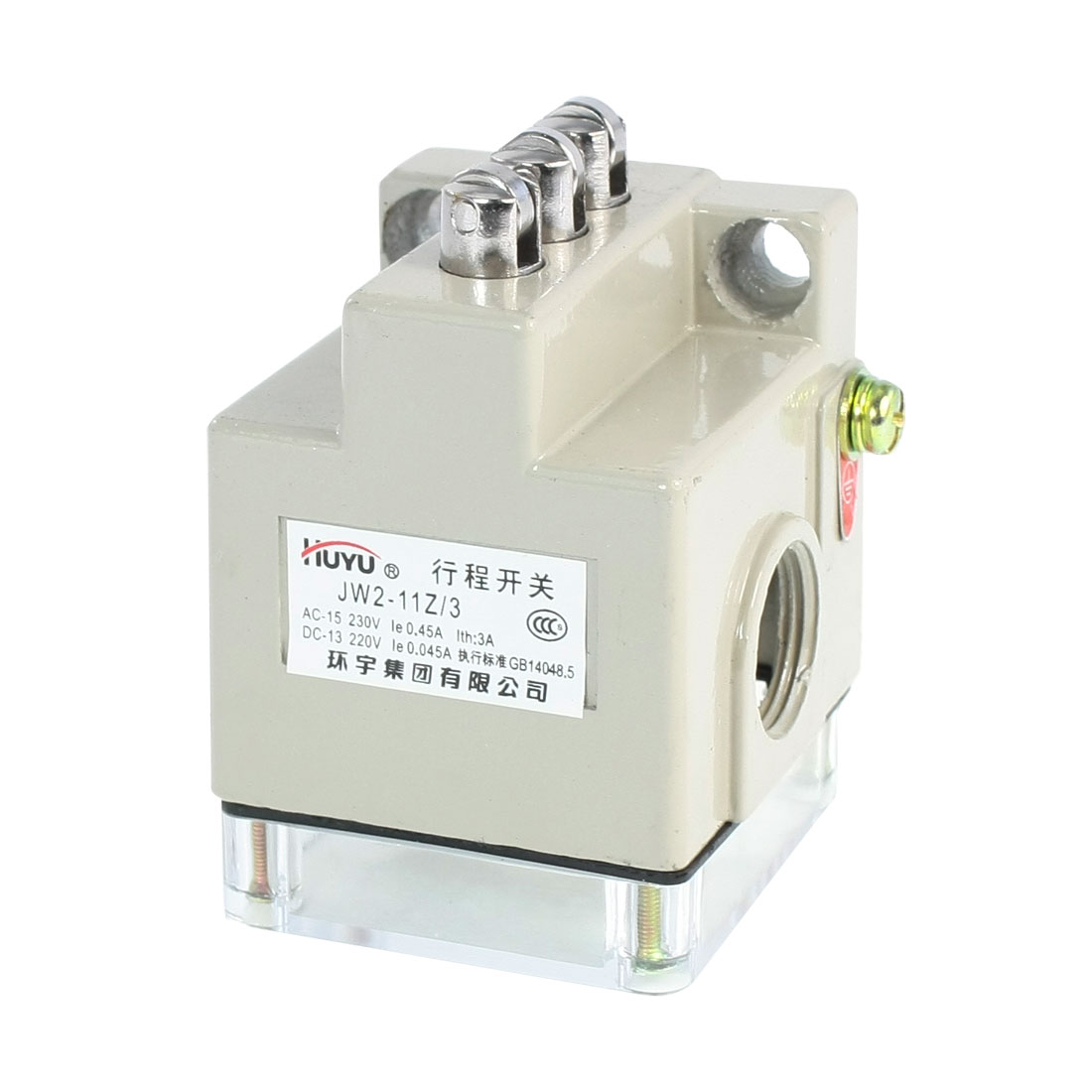JW2-11Z/3 3NO 3NC SPDT Momentary Five Parallel Roller Limit Switch