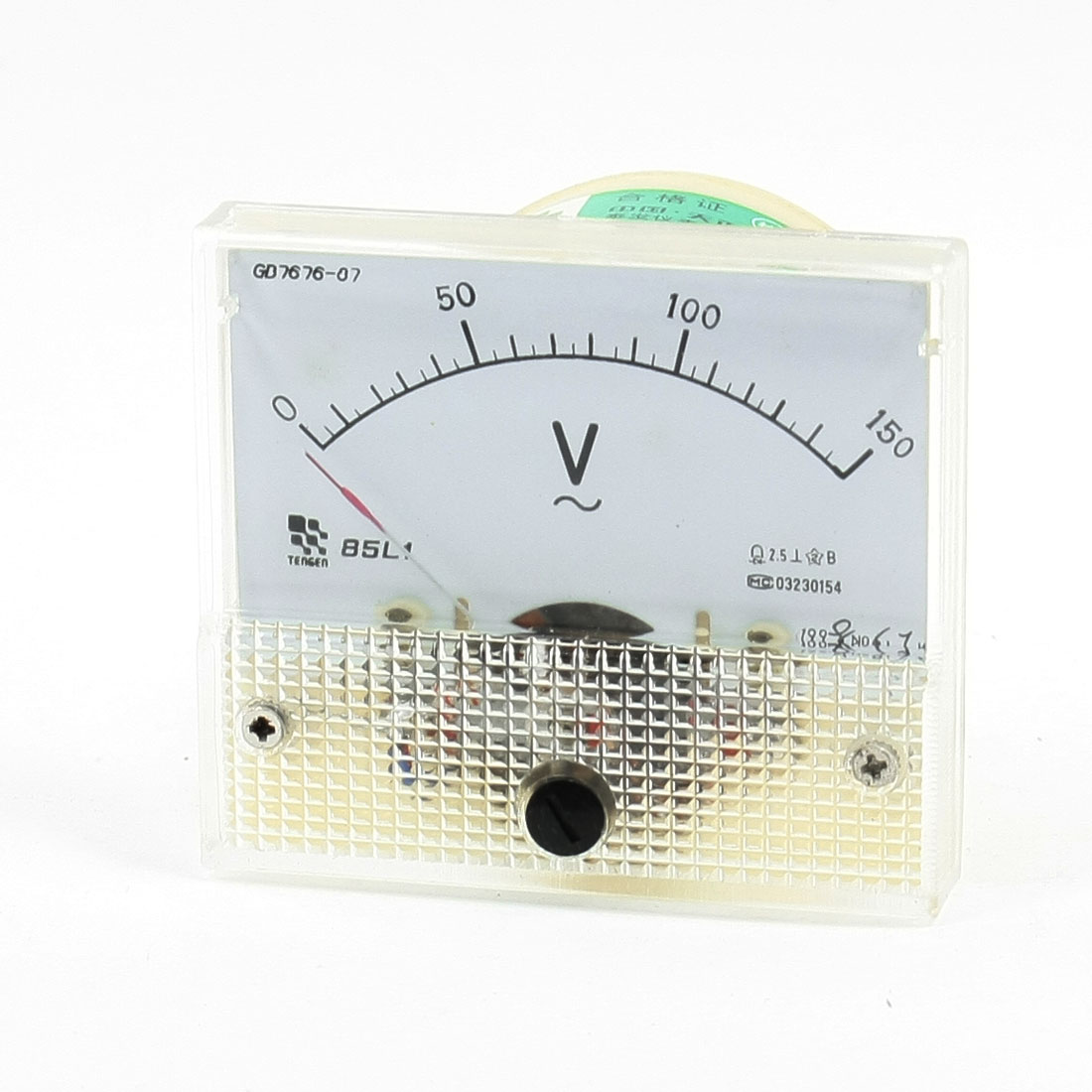 Fine Adjustable Dial Panel Voltage Voltmeter AC 0-150V 85L1