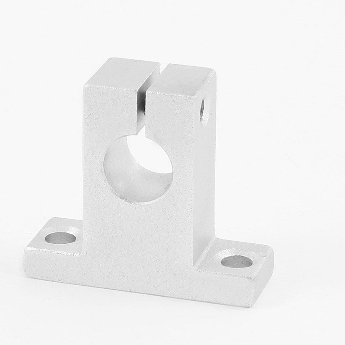 20mm Diameter Aluminum CNC Pillow Block Shaft Linear Guide Support