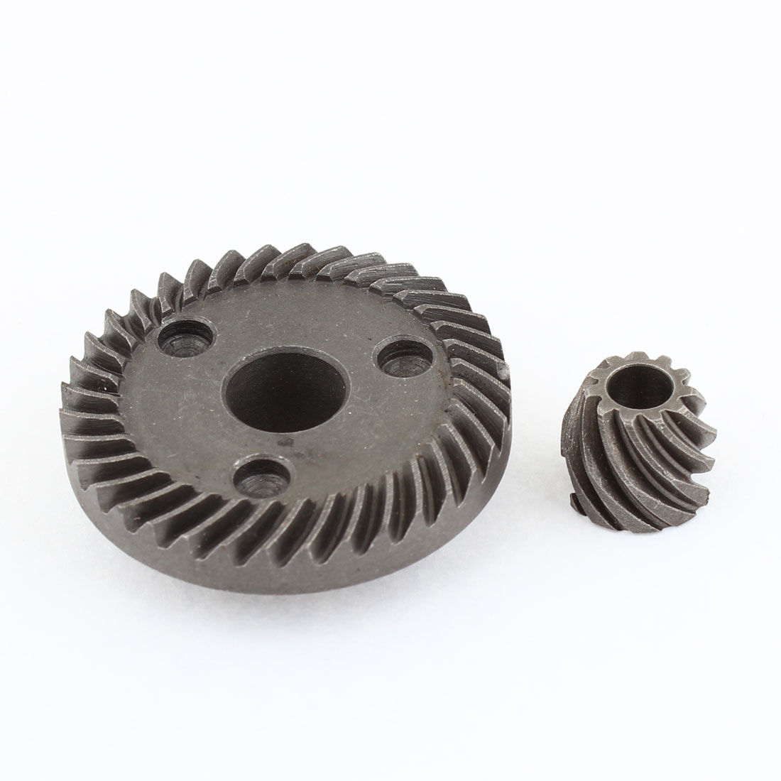 Electric Power Tool Spare Fitting Spiral Bevel Gear Set Gray