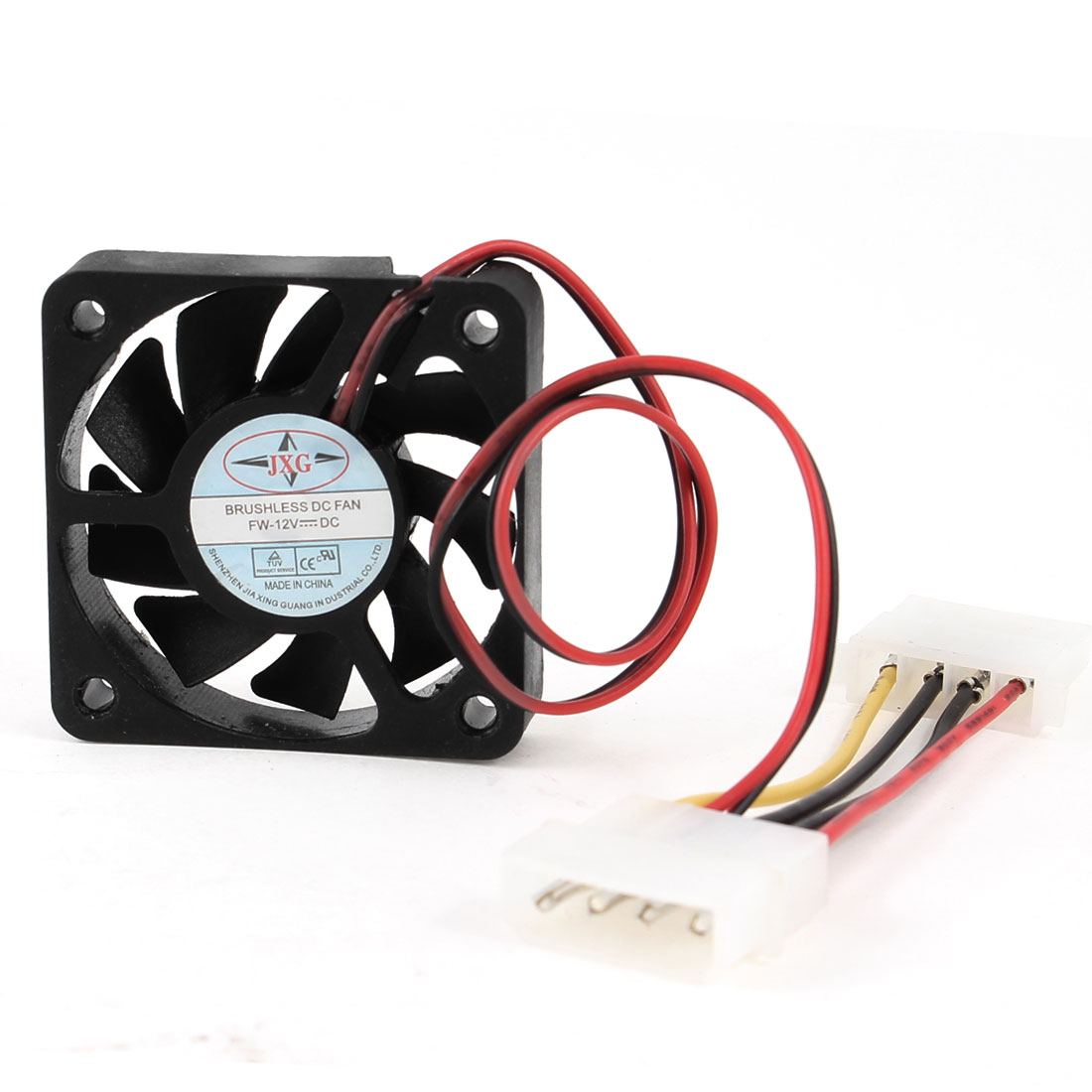 DC 12V 4 Pin Connector Mini Computer Case CPU Cooling Fan 50mmx50mmx10mm