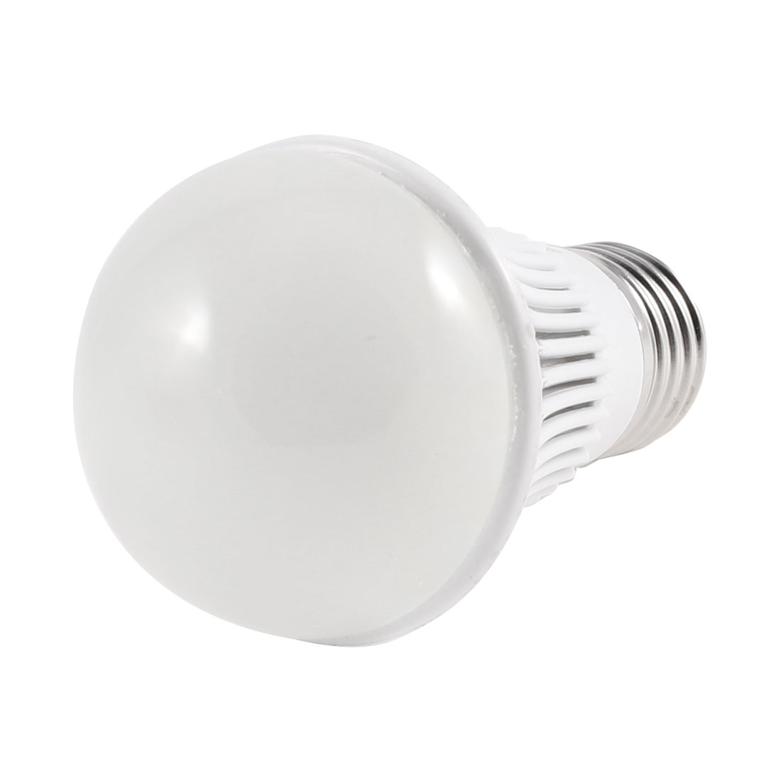 E27 Socket Energy Saving White LED Ball Bulb Lamp AC 220V 4W 6500K