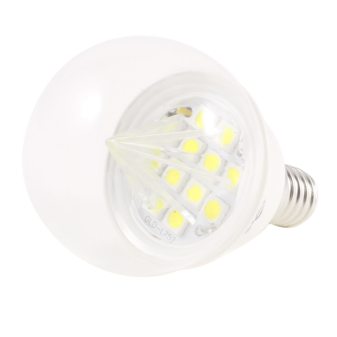 E14 Socket White 12 LEDs Light Globe Ball Bulb 2W AC 220V 6500K