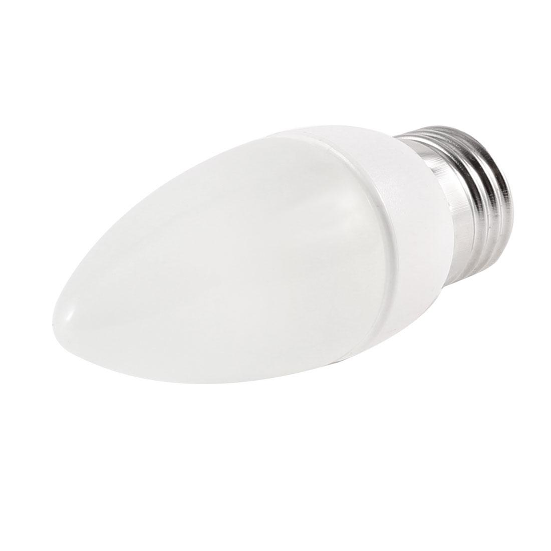 Hallway Decorative 2W 6500K 220V E27 Socket White LED Candle Bulb