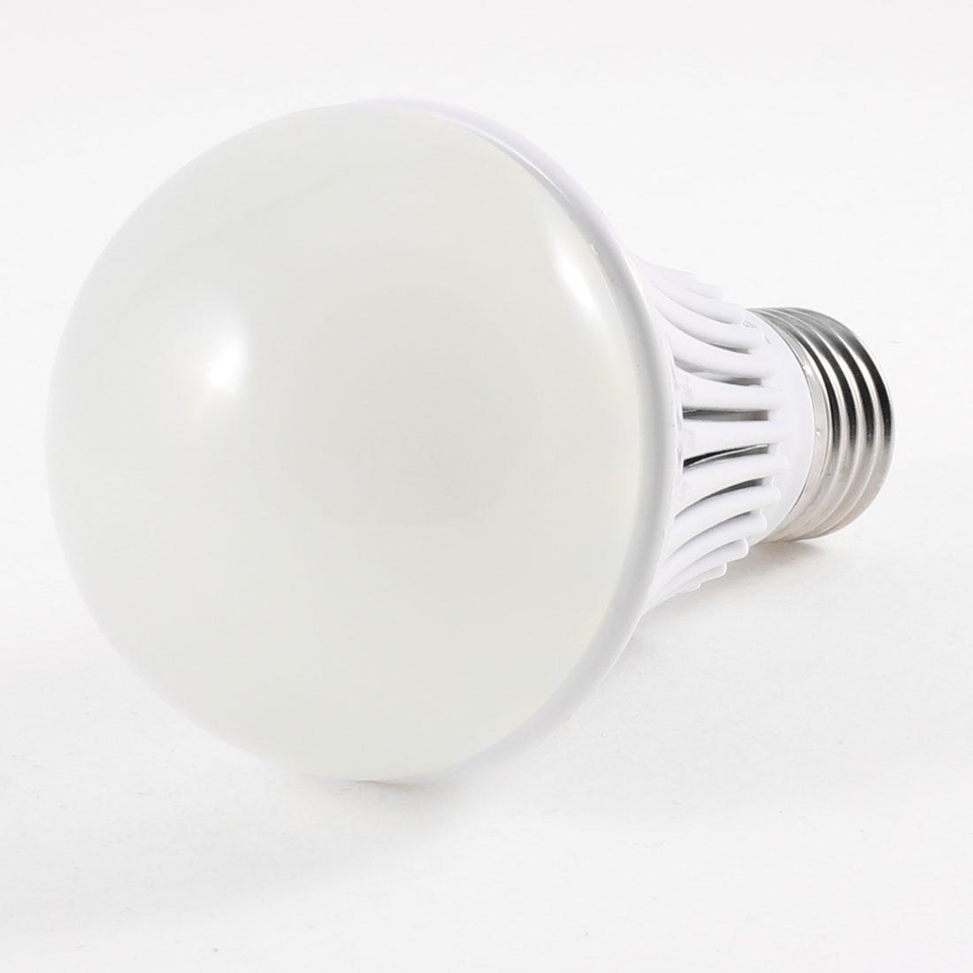 Bedroom E27 Screw Base 6500K White LED Light Ball Bulb 5W AC 220V