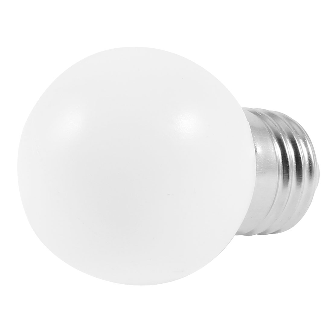 AC 160-250V 1W E27 Socket White LED Bulb Energy Saving Lamp