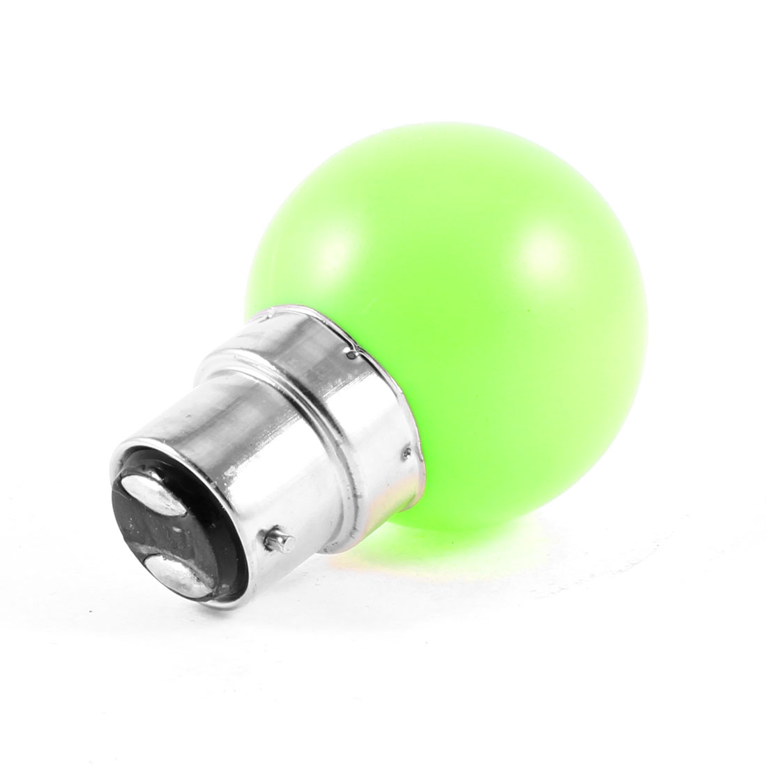 Bedroom B22 Socket Green Light LED Bulb Lamp AC 160-250V 1W