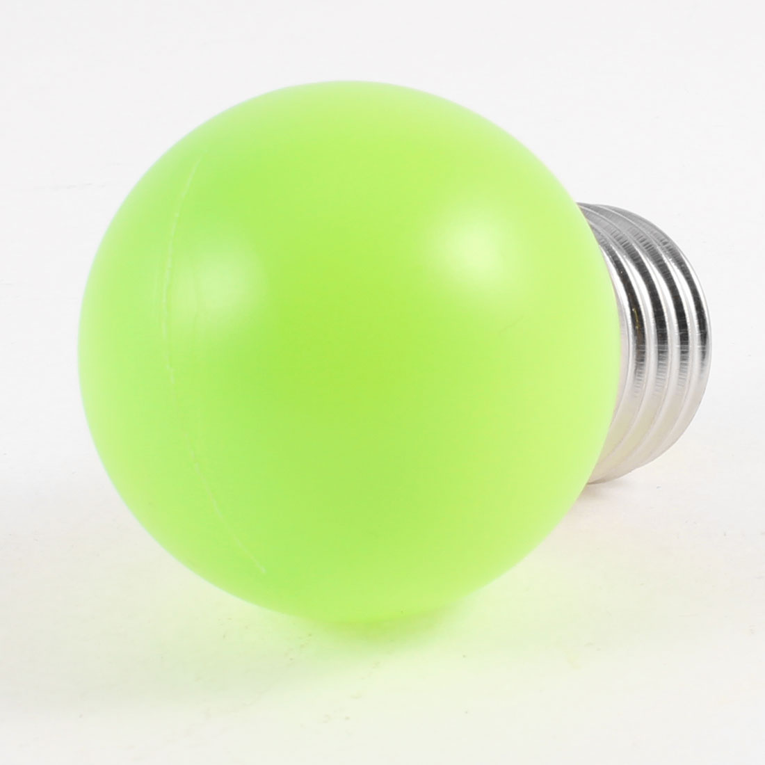 160-250V 1W Energy Saving Plastic Shell Green LED Lamp E27 Bulb
