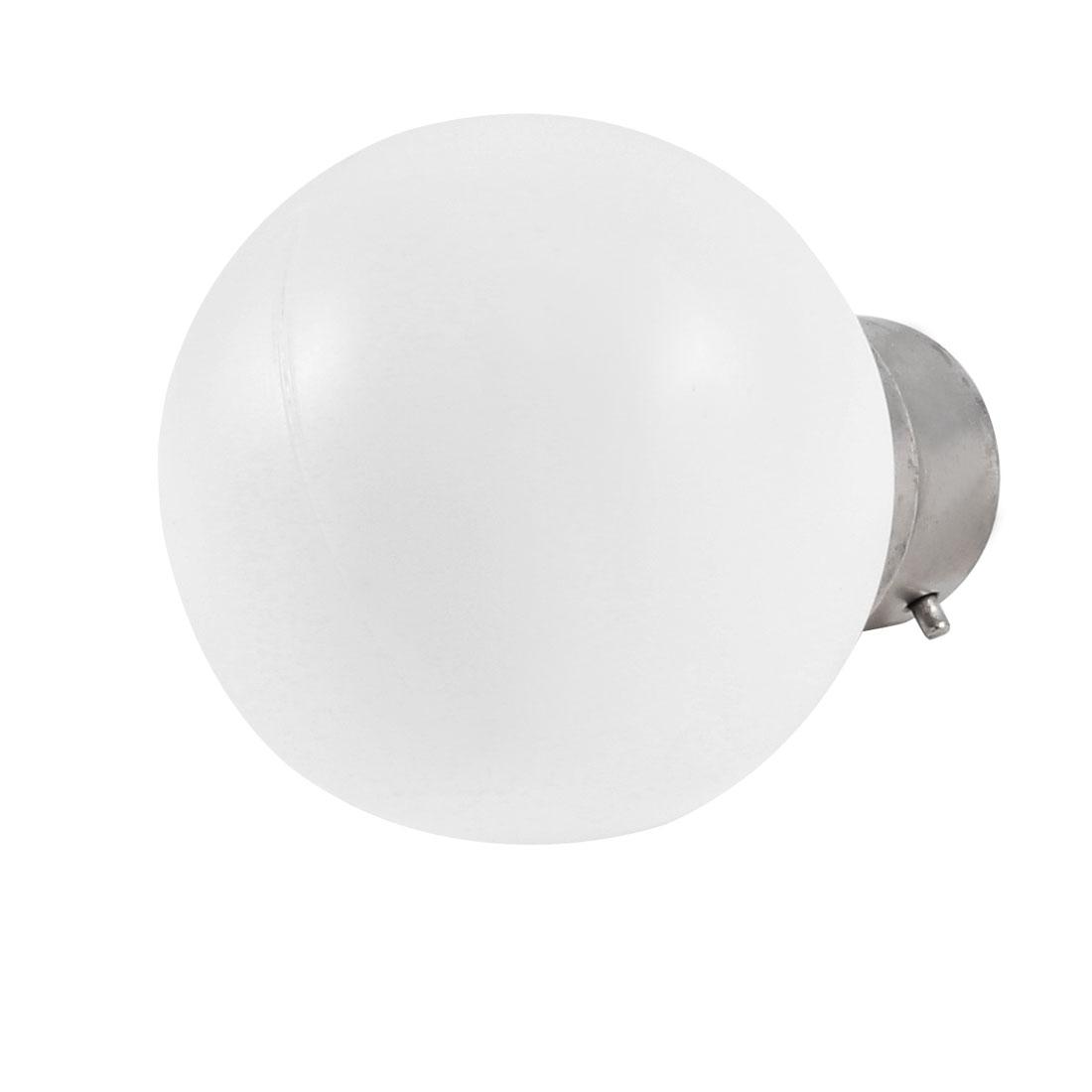 AC 160-250V 1W B22 Socket White LED Bulb Energy Saving Lamp