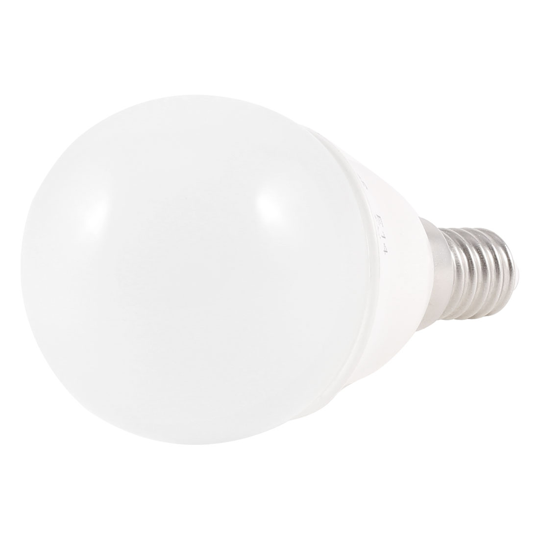 Bedroom E14 Screw Base 6500K White LED Light Ball Bulb 2W AC 220V