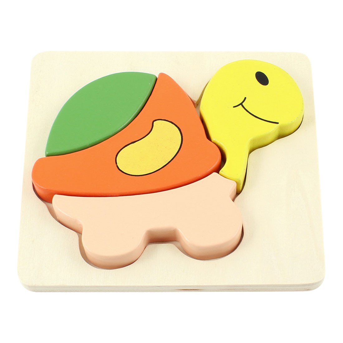 Colored Tortoise Model Woodcraft Construction Kits Toy