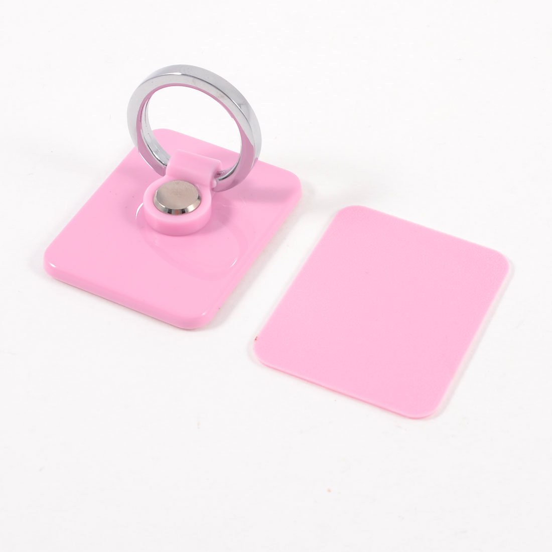 Reuseable Pink Adhesive Ring Holder for Cell Phone Pad Mp4