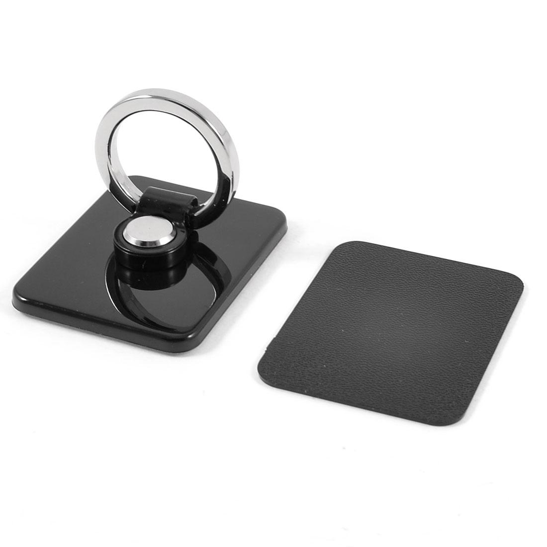 Retangle Black Adhesive Ring Holder for Smart Phone Pad MP5