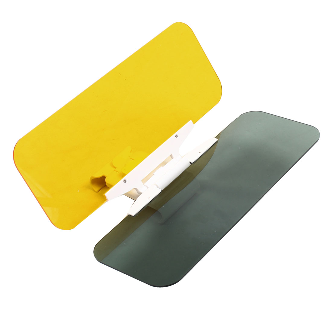Car Sun Visor Clip Sunshade Goggles Cover Day and Nght Anti-Dazzle Mirror