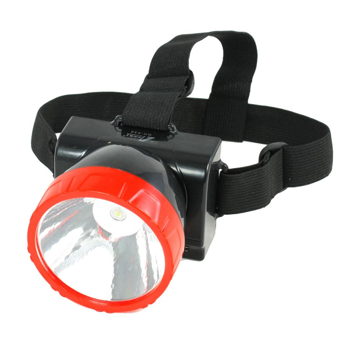 AC 110V/220V US Plug 1 White LED Head Torch Headlamp Light