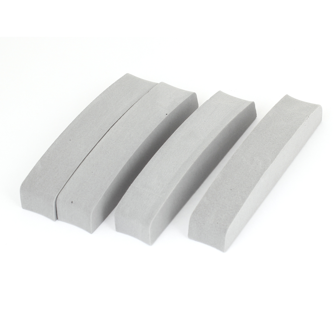 4pcs Self Adhesive Back Foam Protecting Door Guard Gray for Auto