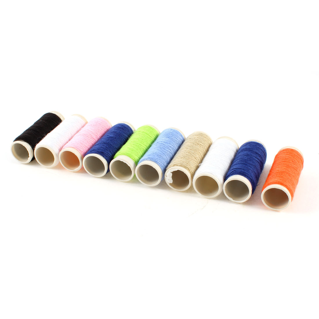 10 Pieces Tailor Multicolor Cotton Stitching Sewing Thread Spools