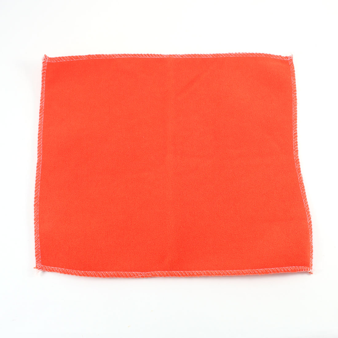 Vehicle Car Door Glass Wash Towel Cloth Cleaning Tool Orange Red
