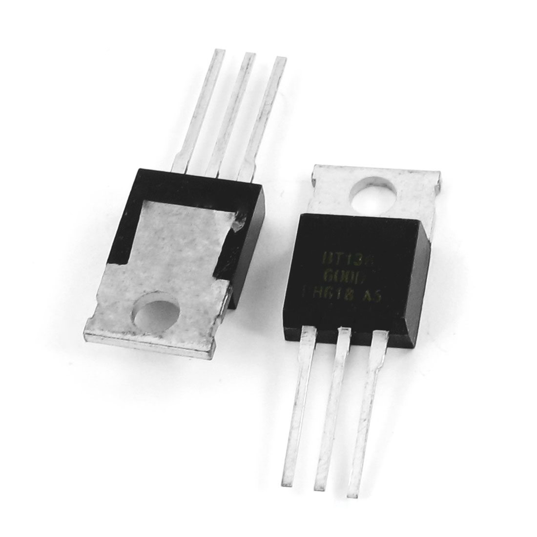 2 Pcs BT136-600E 600V 4Amp High Switching Speed Silicon Transistor