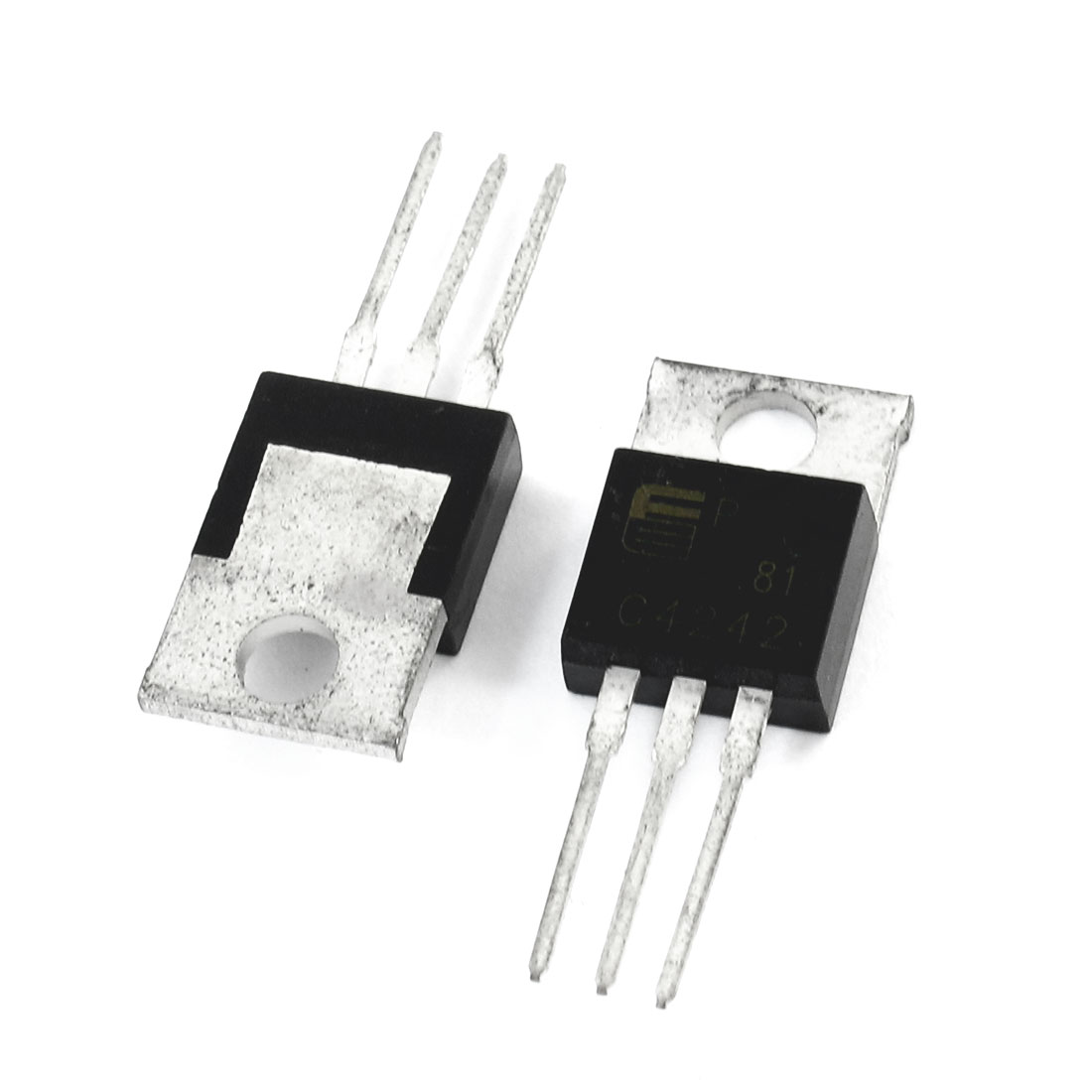 2 Pcs 2SC4242 400V 7Amp 40W High Switching Speed Silicon Transistor