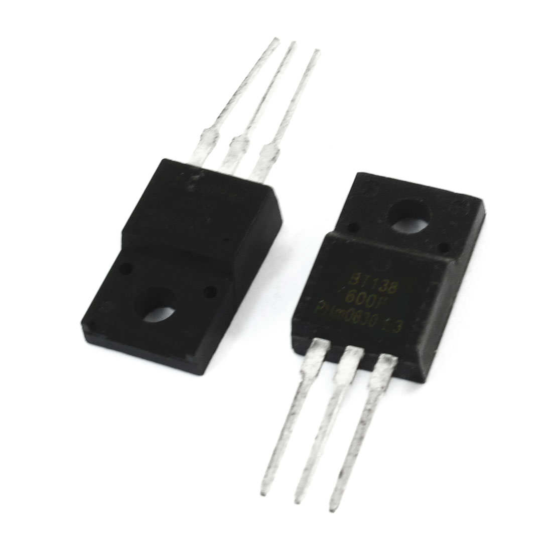 2 Pcs BT138-600F 600V 12Amp High Switching Speed Silicon Transistor
