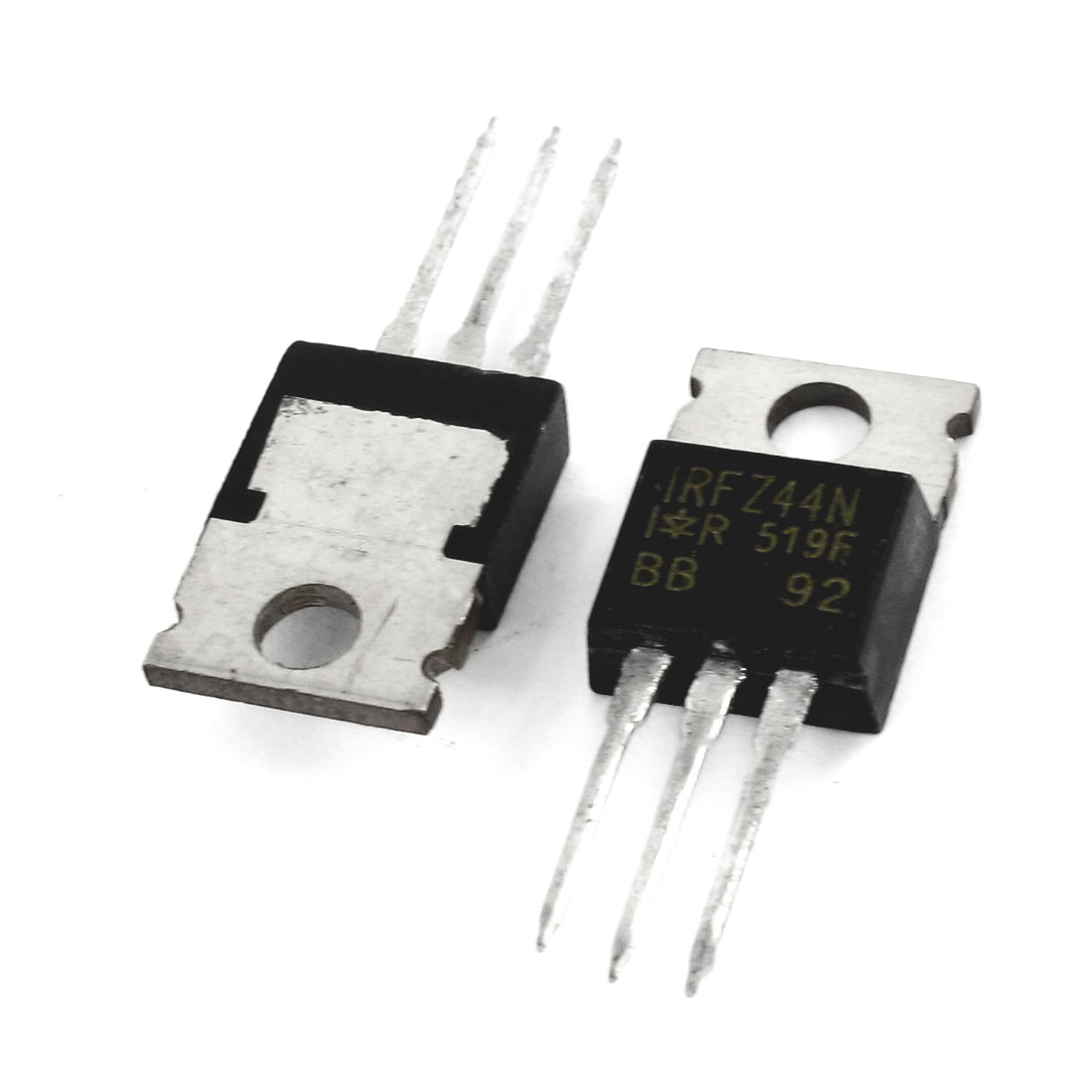 IRFZ44 55V 41Amp 3 Pin Semiconductor Silicon Transistor 2 Pcs