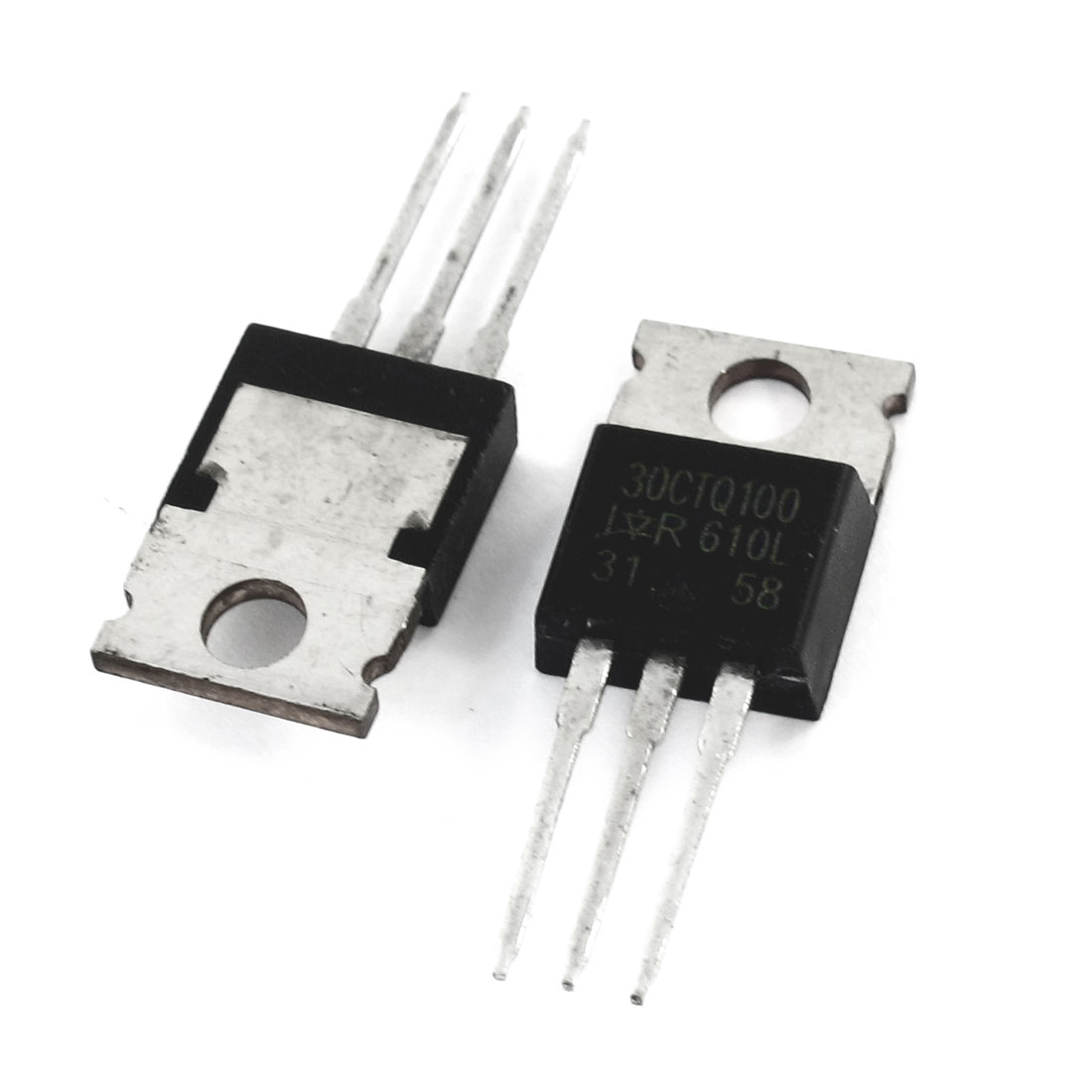 2 Pcs 30CTQ100 100V 30Amp High Switching Speed Silicon Transistor
