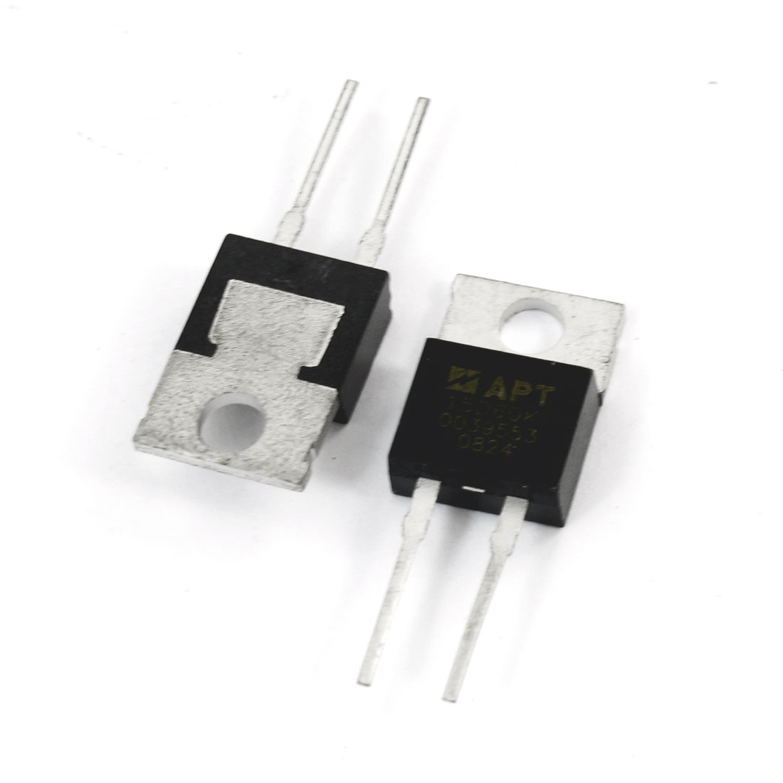 2 Pcs APT15D 60K 600V 15Amp High Switching Speed Silicon Transistor