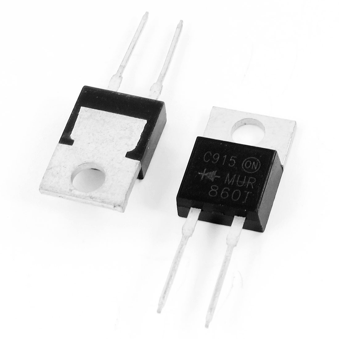 2 Pcs MUR860 600V 8Amp High Switching Speed Silicon Transistor