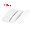 4pcs Self Adhesive Back Foam Protecting Door Guard White for Auto