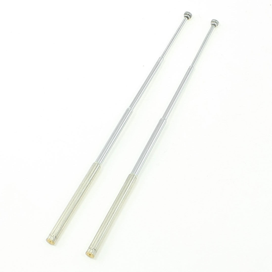 5.5 inches 4 Section Telescopic Antenna Whip Ham Radio RC Radio Control Pair