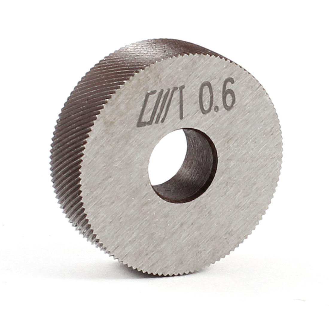26mm x 8mm x 8mm HSS 0.6mm Pitch Diagonal Coarse Knurl Wheel Knurling Roller