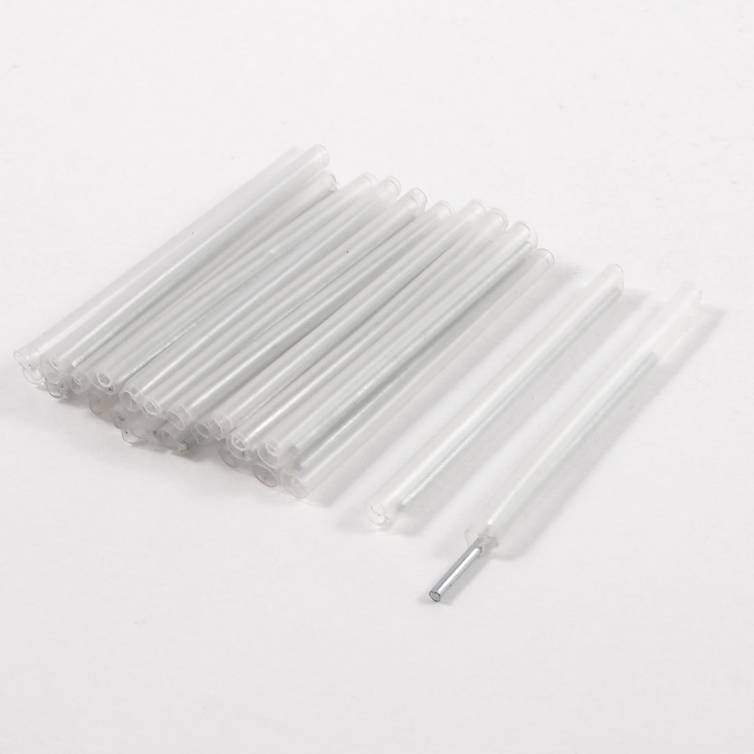Heat Shrinkable Optic Fiber Splice Fusion Protection Sleeve 23 Pcs
